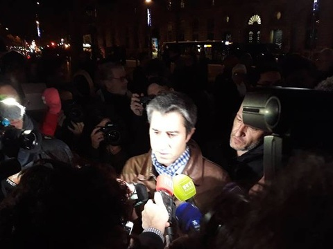 «Gilets jaunes»: François Ruffin appelle Paris à soutenir le mouvement