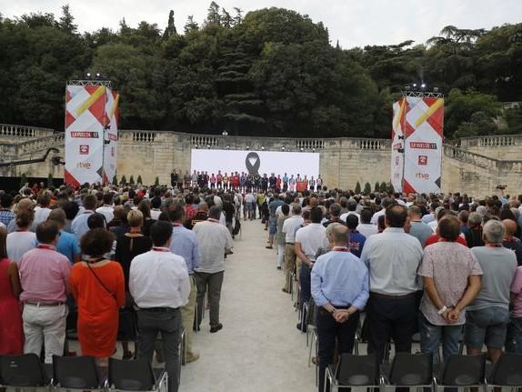 La Vuelta observe une minute de silence