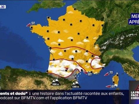 La météo du 1er avril: temps mitigé dans le Sud, des gelées et du soleil dans le Nord