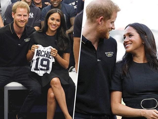 Meghan Markle : elle rompt son congé maternité et apparaît bombesque aux côtés du prince Harry