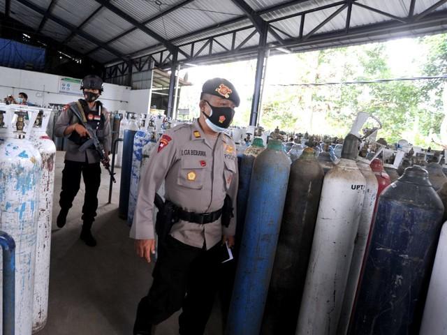 Coronavirus : Bali manque d'oxygène face à la hausse des infections
