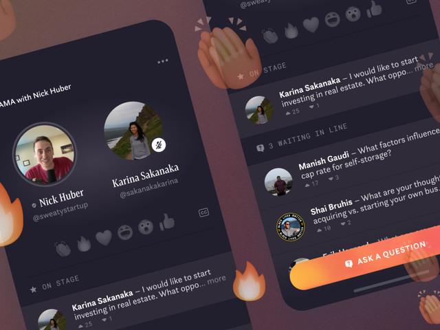 Facebook teste Hotline, un mix des Live Instagram et de ClubHouse