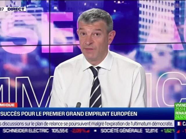 Nicolas Doze : Grand succès pour le premier grand emprunt européen - 21/10
