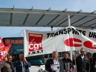 Lorient : Transports en commun gratuits et en régie, une évidence sociale et écologique pour la CGT