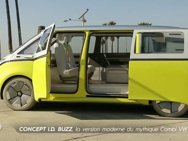 Concept I.D. Buzz, la version moderne du Combi VW - Emission TURBO du 14/01/2018