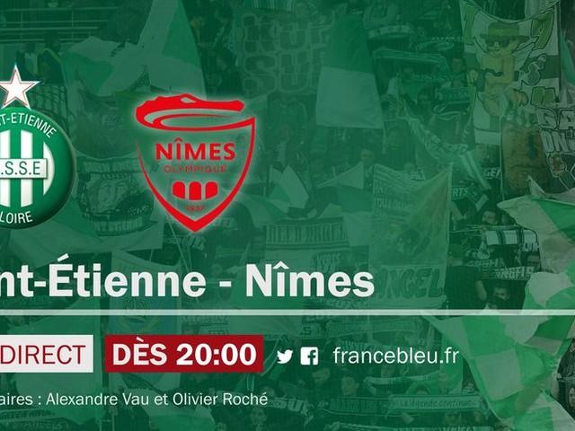 EN DIRECT - Ligue 1 (J21) : l'ASSE retrouve ses supporters face à Nimes sur France Bleu