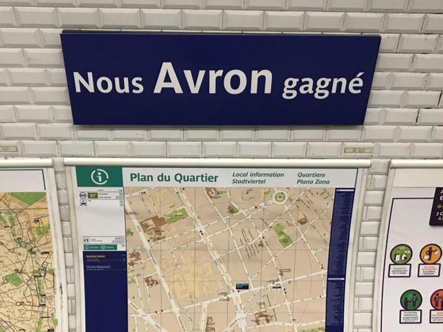 Les stations de métro Champion du Monde à Paris