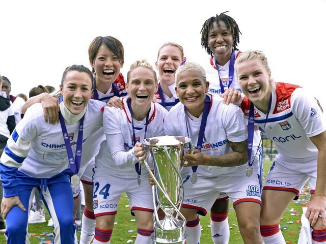 Les Lyonnaises championnes de D1 pour la 13e fois consécutive !