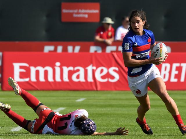 Circuit mondial de rugby à VII: les équipes de France en quarts à Dubaï
