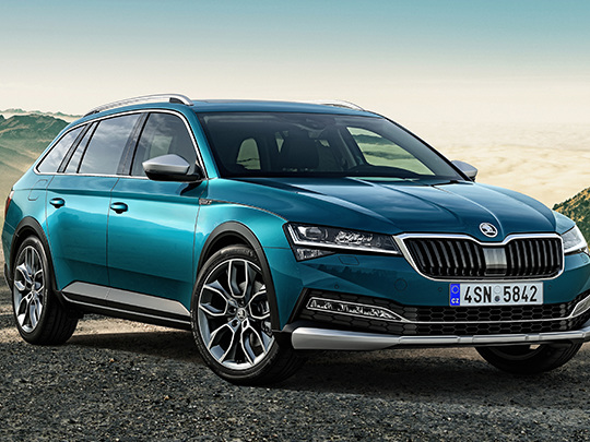 Skoda Superb Scout : Le break de luxe en habit de baroudeur