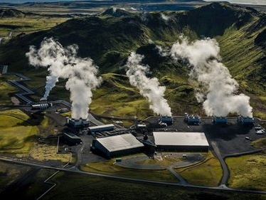 Cette centrale à «émissions négatives» transforme le CO2 en pierre