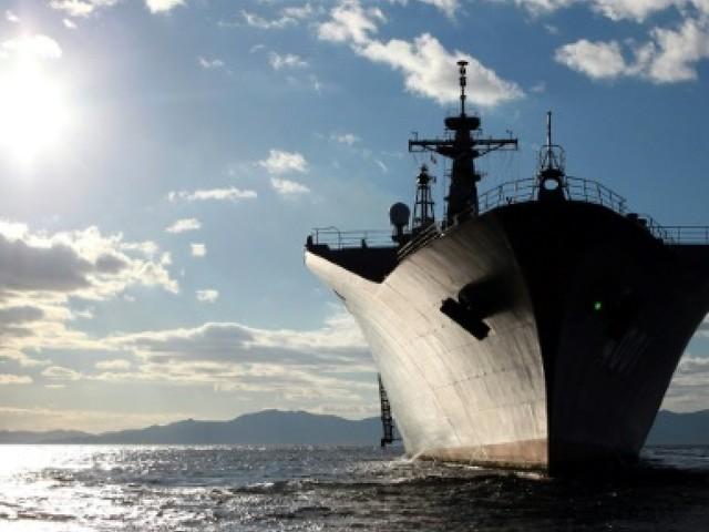 Tokyo: le porte-avions américain dans le Pacifique Ouest