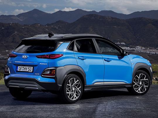Plus de 140 chevaux pour la version hybride du Hyundai Kona