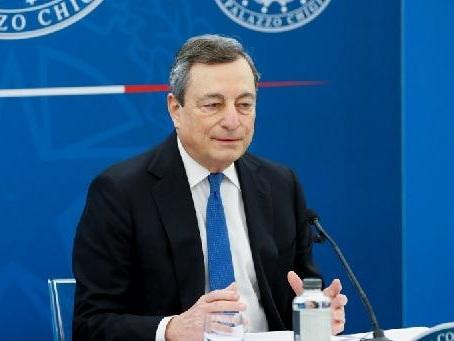 Italie: Draghi annonce des réouvertures progressives à partir de fin avril