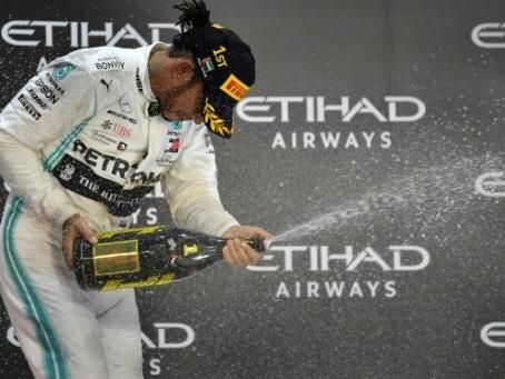 """GP de F1 d'Abou Dhabi: Hamilton se réjouit de """"terminer la saison du bon pied"""""""