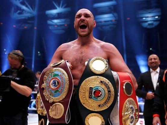 Boxe - Tyson Fury veut remonter sur le ring pour «trois gros combats» en 2018