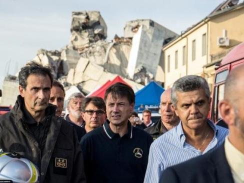 Le gouvernement italien déclare l'état d'urgence pour douze mois à Gênes