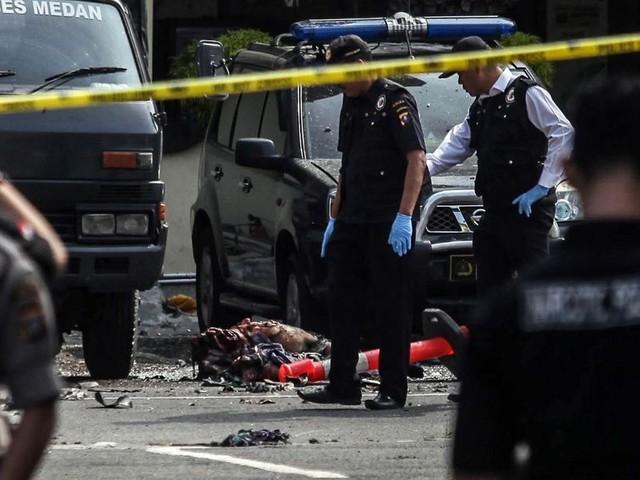 Plusieurs dizaines d'arrestations après un attentat suicide en Indonésie
