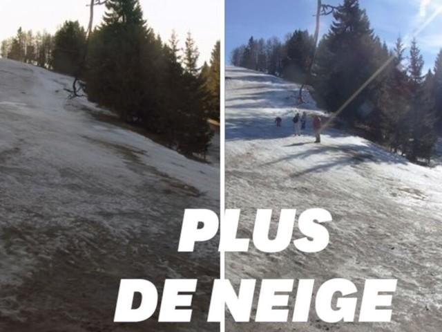 Privée de neige en pleines vacances, cette station de ski ferme ses portes