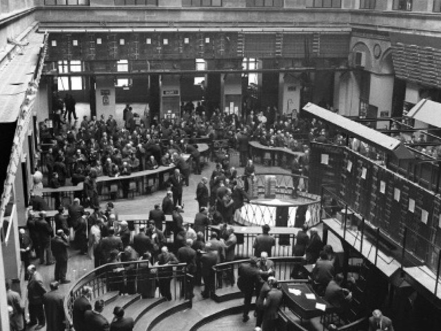 Mai 68 vu par l'AFP - A la Bourse : Allez-y les gars, cassez tout !