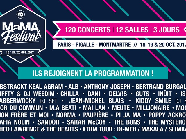 Big MaMA 2017 !