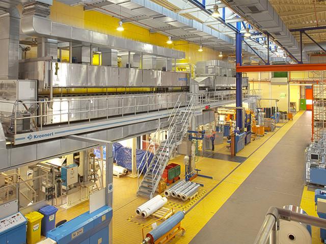 Regroupement sur le marché du papier métallisé