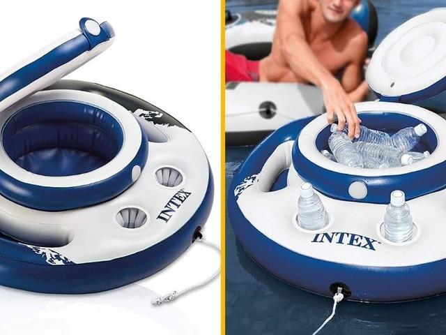 [TOPITRUC] Une bouée mini bar gonflable pour piscine