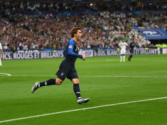Foot - Bleus - Vidéo : le beau but d'Antoine Griezmann face à l'Allemagne