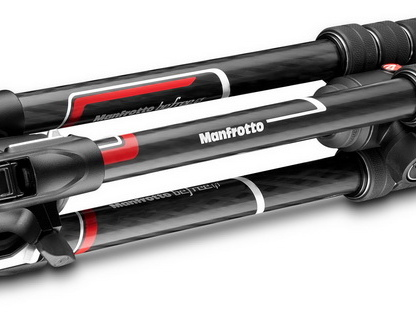 Manfrotto BeFree GT Xpro : colonne inclinable