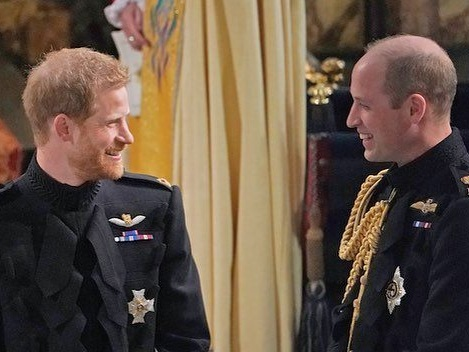 Prince Harry et Prince William enterrent enfin la hache de guerre