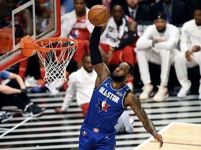 NBA: l'équipe «LeBron» remporte le All-Star Game, le Français Rudy Gobert très en vue