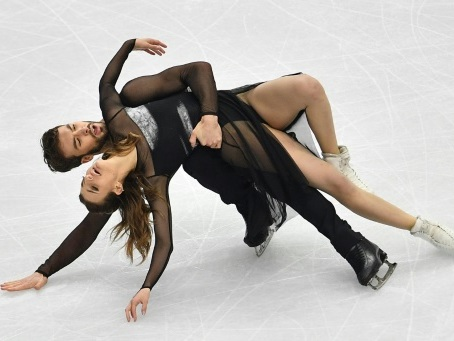 Danse sur glace: Papadakis et Cizeron remportent la finale du Grand Prix
