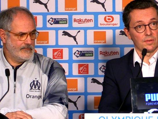 OM : Eyraud justifie sa position concernant Rudi Garcia