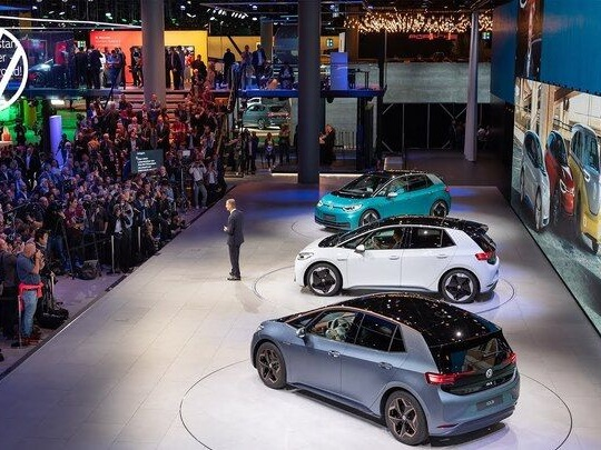 Le groupe Volkswagen en comité réduit au salon de Munich