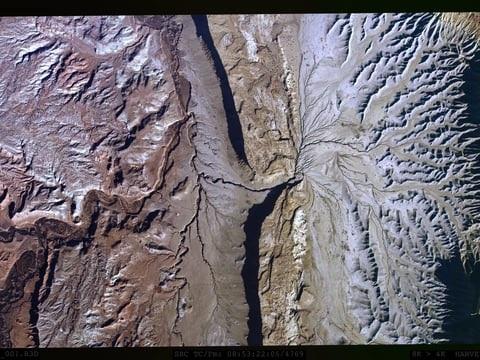 Vu du ciel : gigantesques photos panoramiques prises avec un iPhone à 6000 m d'altitude