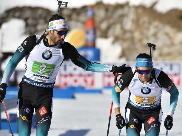 Mondiaux de biathlon : l'équipe de France remporte le relais masculin