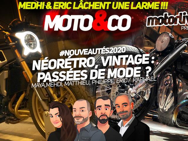 Moto&Co nouveautés 2020 : un millésime fort en caractère ?