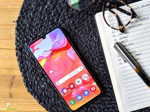 Test du Samsung Galaxy A70 : une belle amélioration sur le milieu de gamme