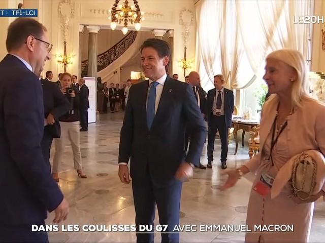 Dans les coulisses du G7 avec Emmanuel Macron