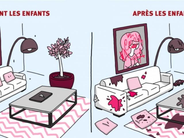 Top 11 des différences entre la vie avant et après les enfants, vis ma vie de jeune parent