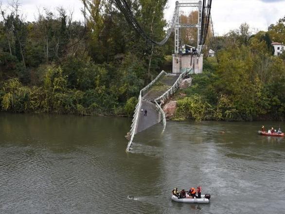 Pont effondré près de Toulouse: le procureur indique la cause «apparente» de l'accident