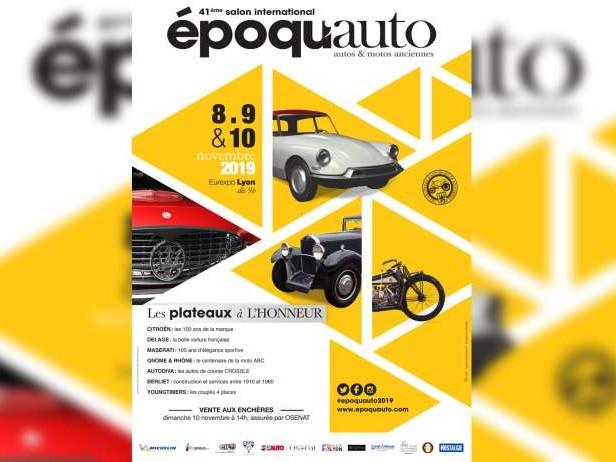 J-3 pour le Salon des anciennes Epoqu'Auto 2019 !