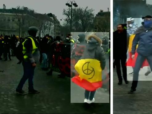 """Qui sont les casseurs belges qui ont saccagé les Champs Élysées? Notamment des Liégeois qui """"vont là où ça se passe"""""""