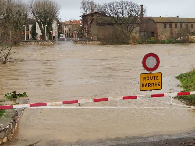 Pendant la tempête Gloria, plus de 1500 personnes évacuées dans le sud de la France