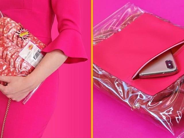 [TOPITRUC] Un sac à main en forme de saucisson de supermarché