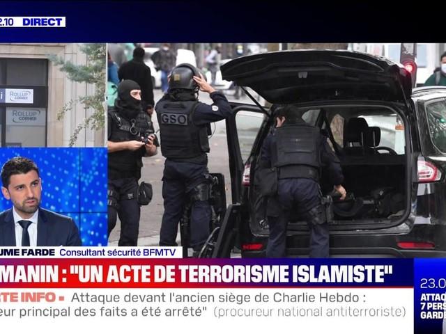 """Edition spéciale: Gérald Darmanin parle d'un """"acte de terrorisme islamiste"""" (1/2) - 25/09"""