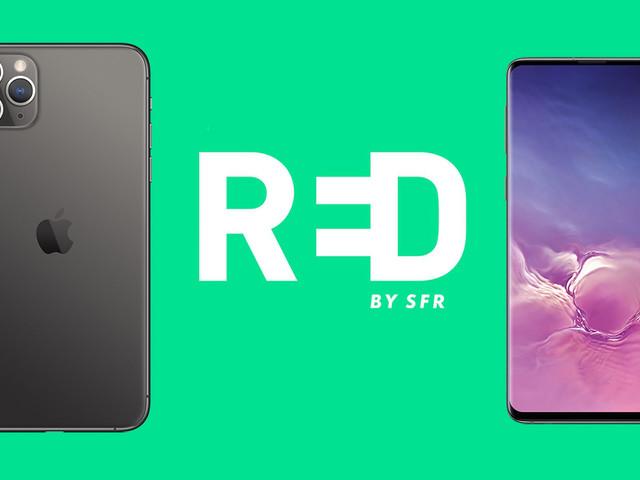 RED by SFR : profitez de prix réduits sur les smartphones vendus sans forfait