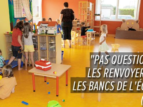 """L'accueil de la petite enfance bientôt transformé par la réforme de l'ONE: """"Ils suppriment des diplômes impunément"""", estime Adeline"""