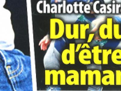 Charlotte Casiraghi, loin de Dimitri Rassam, dur, dur d'être maman (photo)