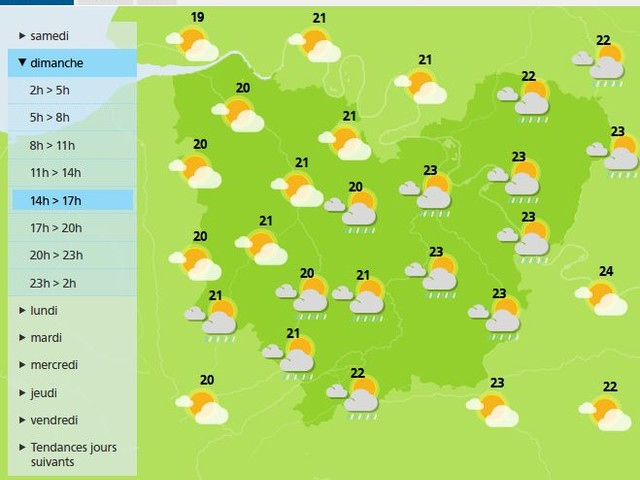 Eure. La météo du dimanche 28 juin 2020 et les fêtes à souhaiter